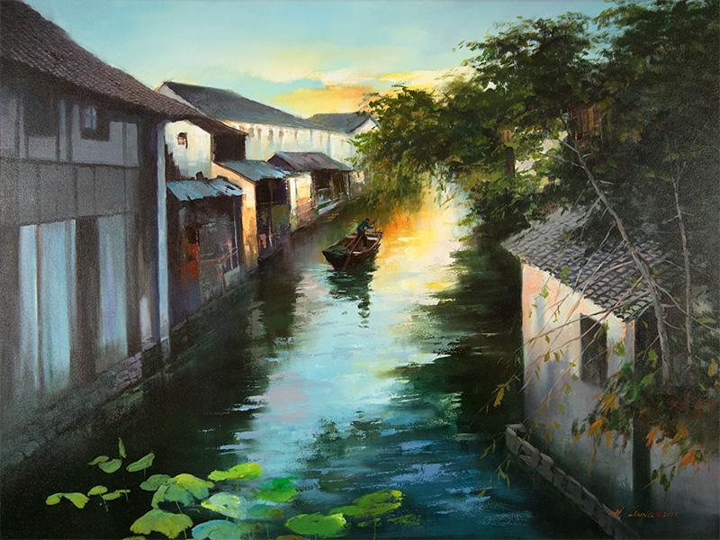 Summer Water Village