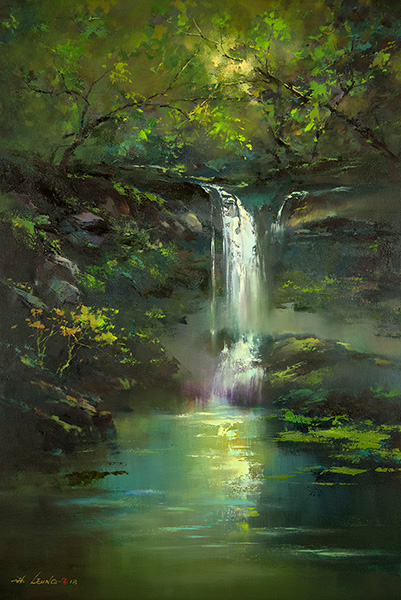 Woodland Waterfalls