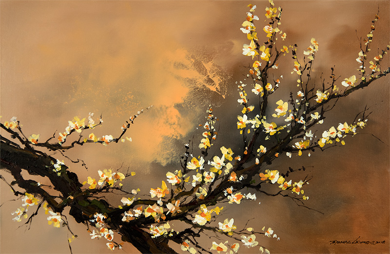 Yellow Plum Blossom